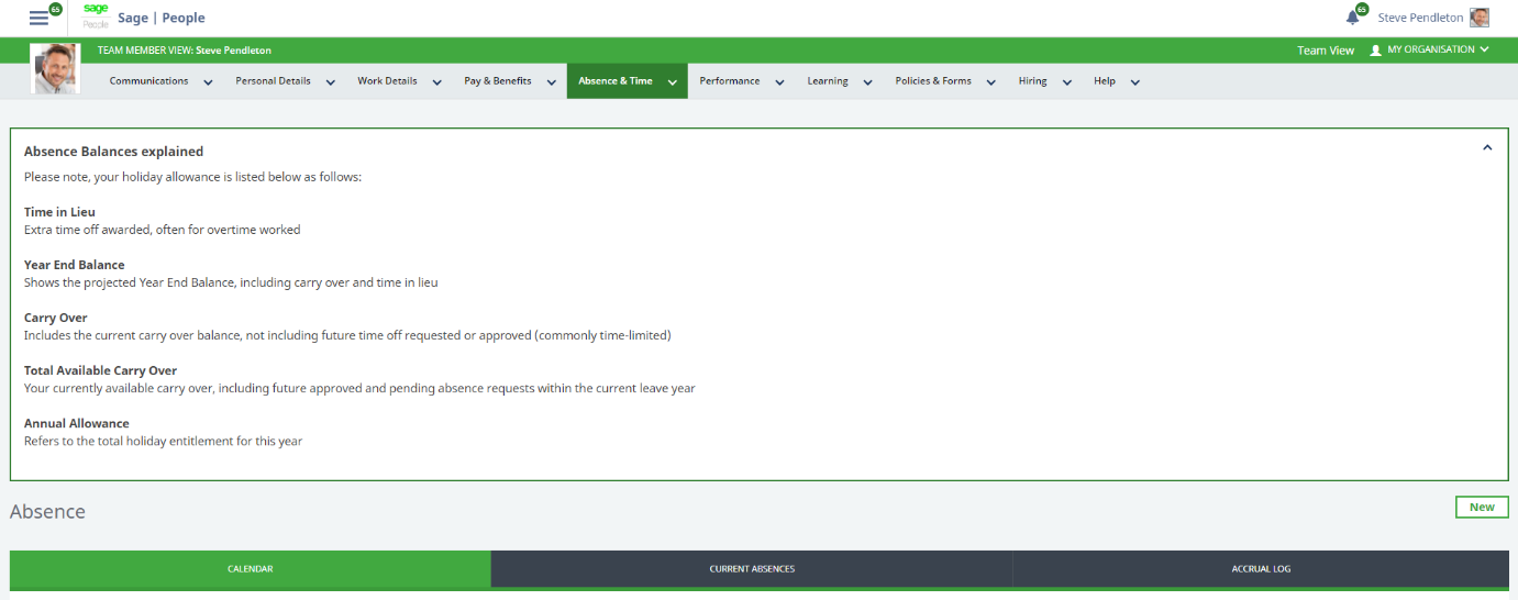 Sage People. HR Noticeboard example. Learn more.